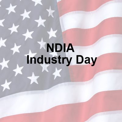 NDIA Industry Day <br>8/1/19 (tentative date) <br>COMING SOON!