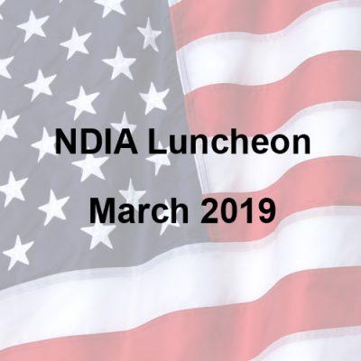 NDIA Luncheon – March 2019