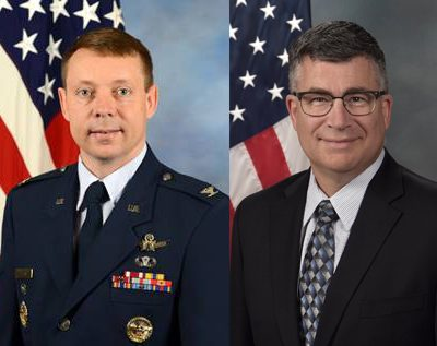 Col. Russell F. Teehan and Mr. Michael Dickey Luncheon <br>8/23/19