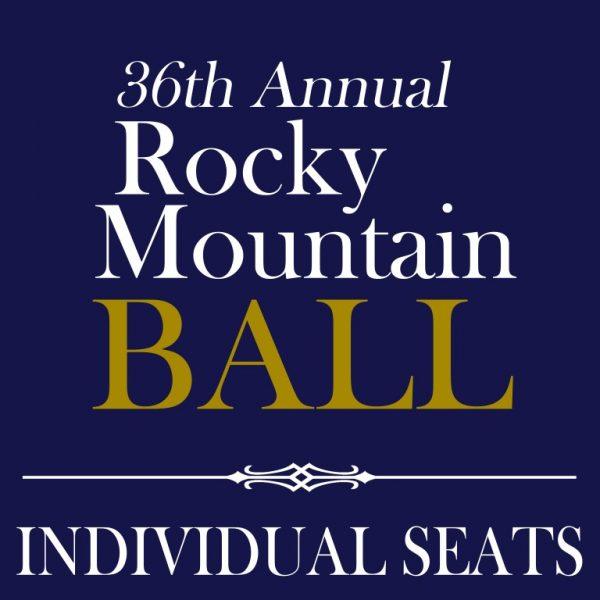 36th Annual Rocky Mountain Ball - Individual Seats - LOGO