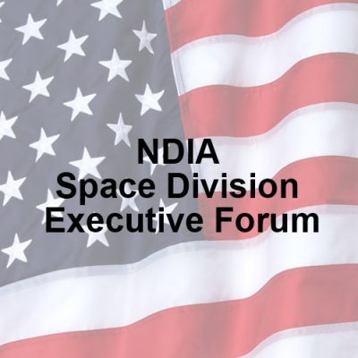 NDIA Space Division Executive Forum – 2019