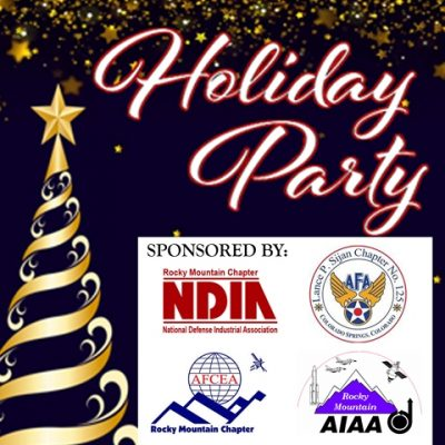 NDIA-RMC / AFCEA / AIAA Holiday Party – 12/10/19<br><span style=