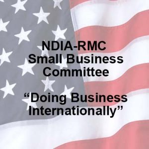 Small Businesss Committee - Doing Business Internationally