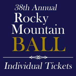 Rocky Mountain Ball - Individual Tickets