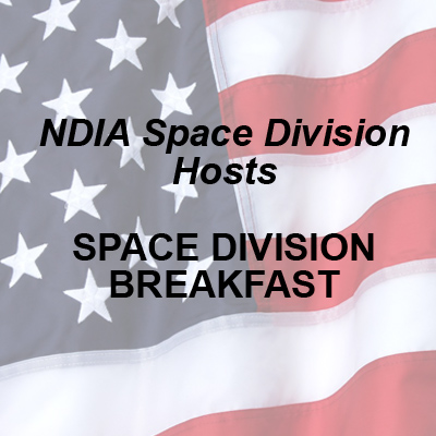 NDIA Space Division Breakfast<br>3/31/20 <br><b><span style=