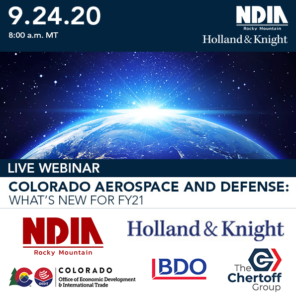 Colorado Aerospace and Defense: What's New for FY21