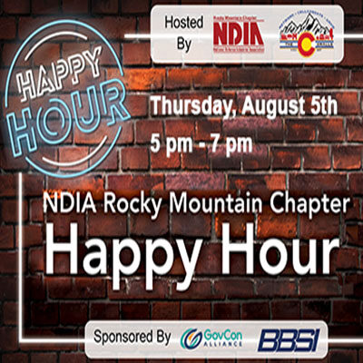 NDIA-RMC August Happy Hour Networking Event 8/5/21