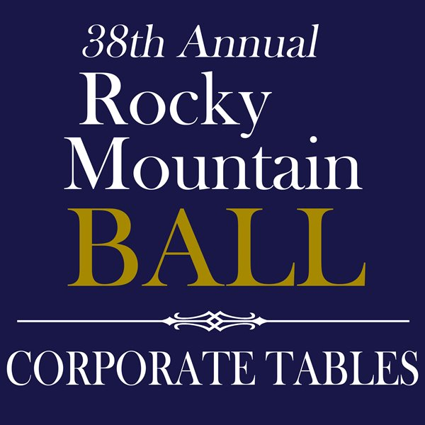 Rocky Mountain Ball - Corporate Tables